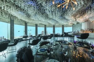 Subsix Underwater Restaurant, Maldives.
